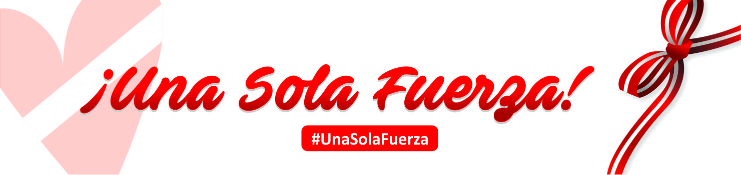 # UNA SOLA FUERZA # A SINGLE FORCE
