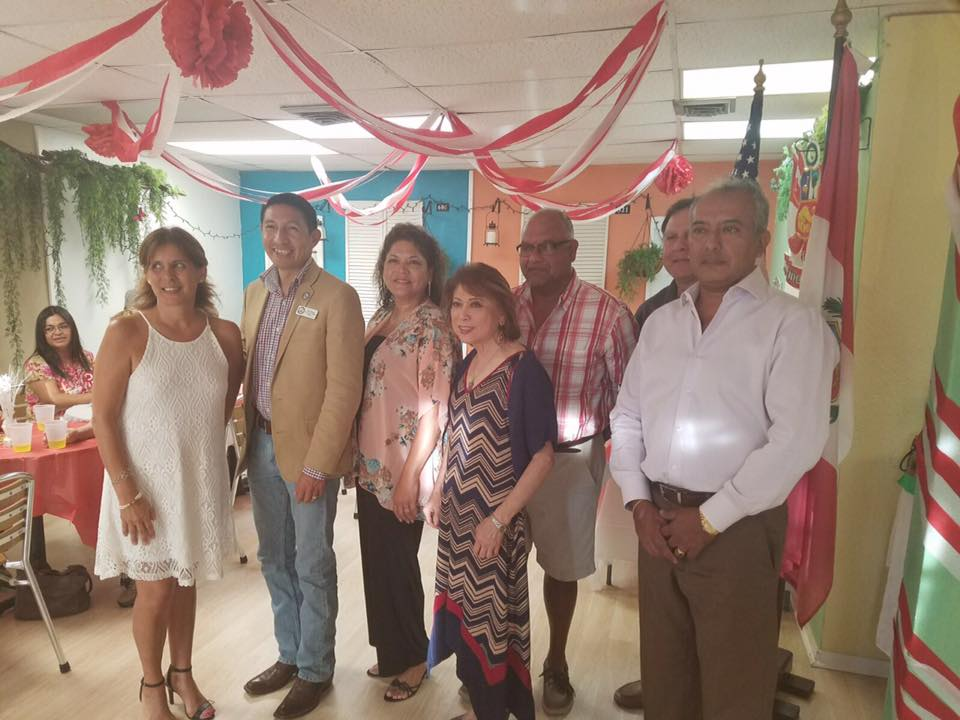 PERUVIAN AMERICAN ASSOCIATION OF CORPUS CHRISTI TEXAS – CELEBRACIÓN DE 28 JULIO DÍA DE LA INDEPENDENCIA